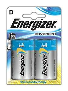 Energizer Advanced 'D' batteries - £2.35 @ Tesco