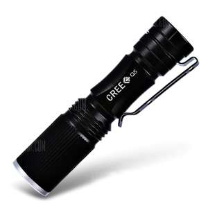 Cree XPE Q5 600Lm Zoomable LED Flashlight | New Coupon - 74p @ GearBest