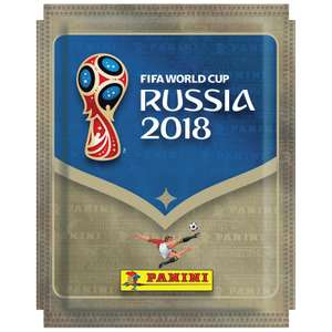 World Cup 2018 Panini stickers half price in store Coventry £0.40 @ Debenhams