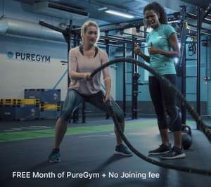FREE 1 MONTH PUREGYM PASS + NO JOINING FEE VIA SWEATCOIN APP