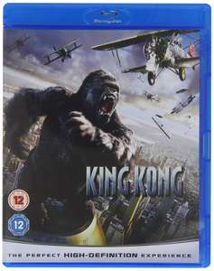 King Kong Blu-Ray £2.99 Delivered (Prime) @Amazon £2.99 delivery non prime