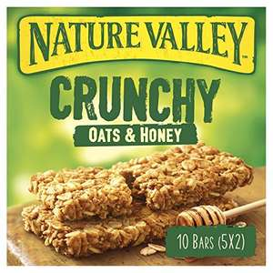 Nature Valley Crunchy Granola Oat And Honey Bars Pack of 5 add on item @ Amazon - £1