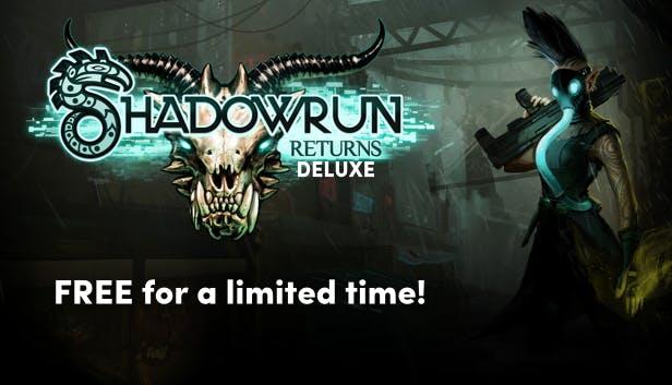 Shadowrun Returns Deluxe Free @ Humble