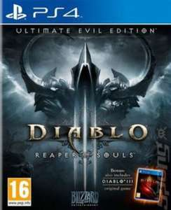 Diablo III Reaper Of Souls for PS4 £11.19 @ Music Magpie