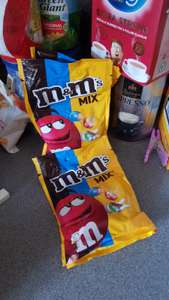 128g M&Ms Mix Bag in store at Sainsburys for 20p