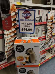 Dolce Gusto coffee machine with £50 pod voucher - instore @ B&M (Kettering)