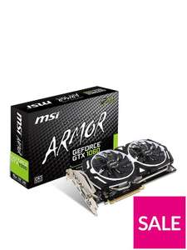 Nvidia GeForce GTX 1070 Armor 8Gb OC GDDR5 VR-Ready Graphics Card £429.99 @ Very