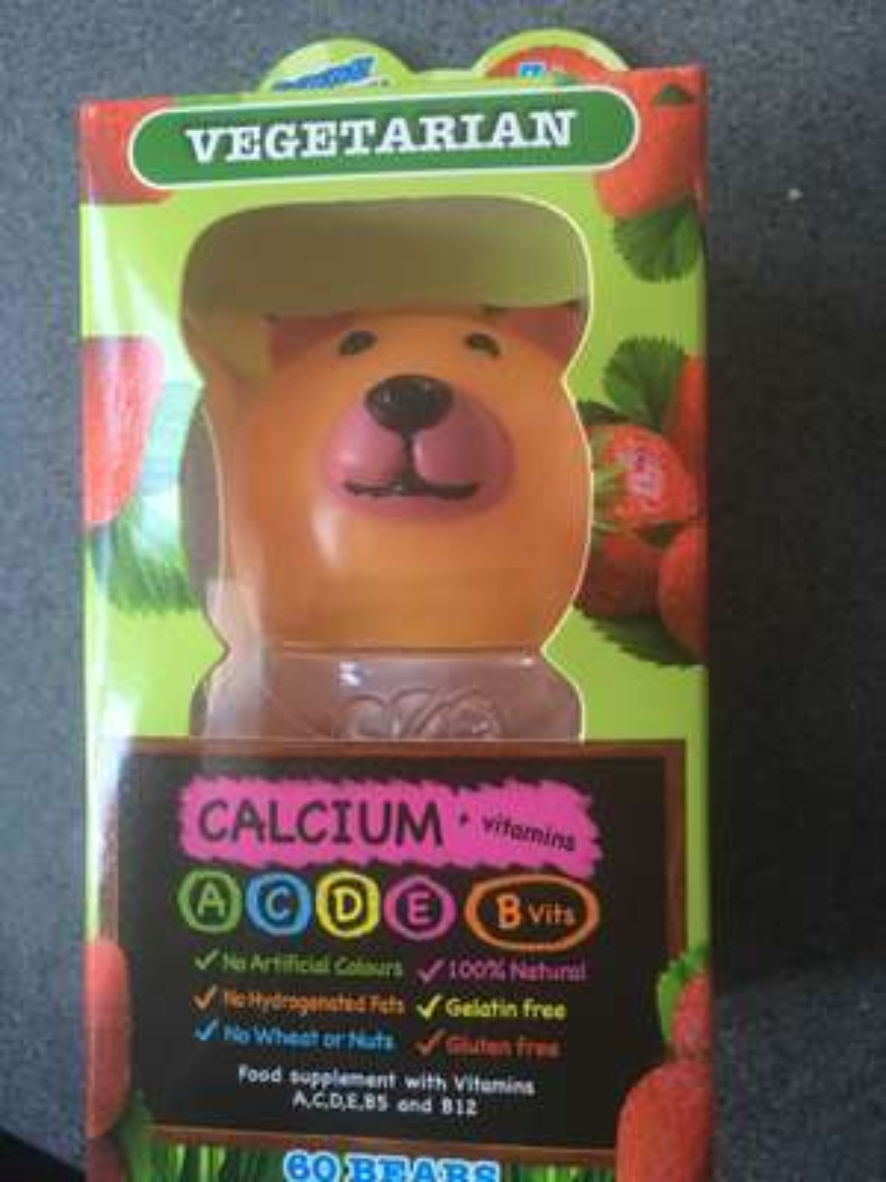 Calcium + vitamins jelly bears 99p instore @ home bargains