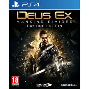 Deus Ex Mankind Divided Day One Edition *NEW* [PS4/XB1] £3.99 including FREE delivery @ 365games