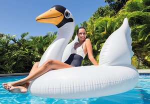 Intex Mega Swan Pool Inflatable - Fits 2 Adults (was £30) Now £15 C&C @ Tesco Direct