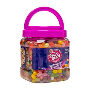 The Jelly Bean Factory 36 Gourmet Flavours Jelly Beans (1.4kg) £9 @ Iceland