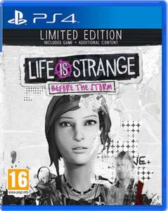Life is Strange: Before the Storm Limited Edition (PS4) £12.99 (Prime) / £15.98 (non Prime) at Amazon