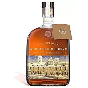 Woodford Reserve Bourbon Whiskey, 1 L  £34.39 Amazon (Imported US Bourbon Whiskey now with added 25% Tarriff)