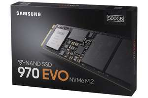 Samsung 970 EVO 500GB NVMe M.2 SSD £135.00 from Amazon.it - Cheapest ever!