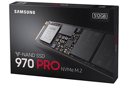 Samsung 970 Pro 512GB NVMe M.2 SSD from Amazon.de