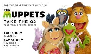 The Muppets Take The O2 now £29 from Groupon (was £112)
