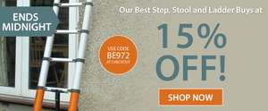 15% off Best Step Stool and Ladders with code @ Expert Verdict