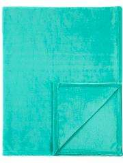 1\2 price : Turquoise supersoft throw now £2.75 @ Asda C+C