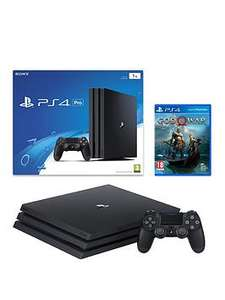 PS4 Pro with free God of War at Very (£349.99 or £314.99 with BNPL code)