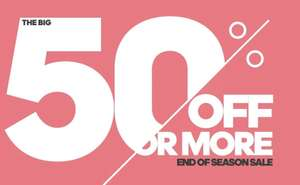 Intersport up to 50% off Sale now on