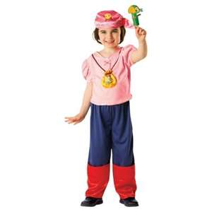 Izzy the Pirate costume £8 @ Tesco