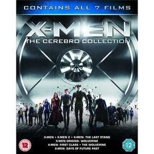 X-Men - The Cerebro Collection (7 Film Box Set) [Blu-ray] - £11.99 Delivered @ 365 Games
