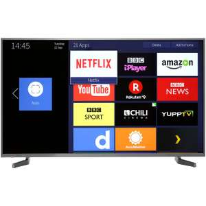 "Hisense H50N5900 50"" Smart 4K Ultra HD Certified TV with HDR and Freeview HD / Freeview Play - A Rated £359.10 @ AO"