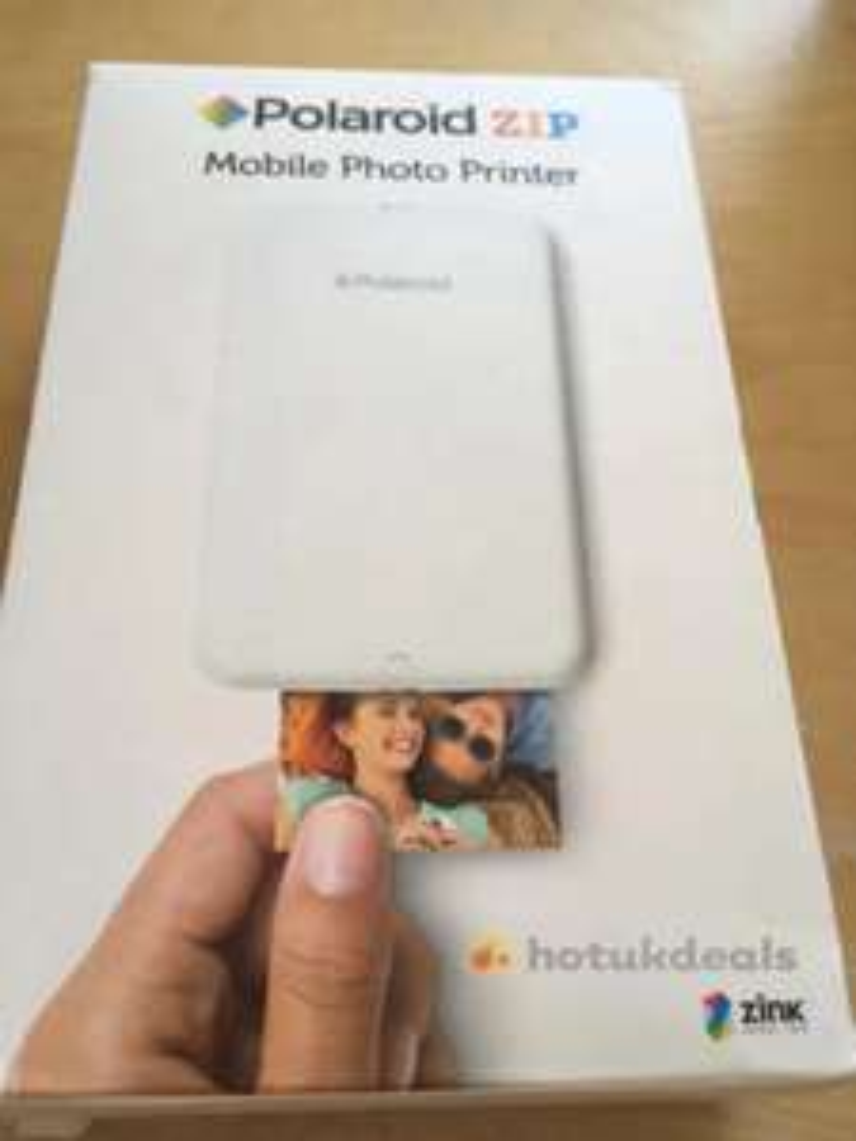 Polaroid Zip Mobile Photo Printer £22.50 Asda Ventura park Tamworth