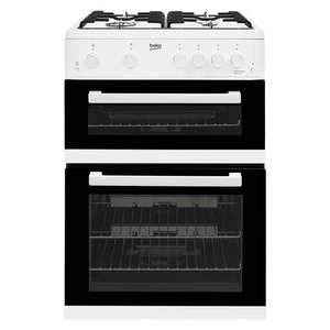 Beko 60cm gas free standing double oven / hob now £238.99 delivered with code @ Co-op Electrical