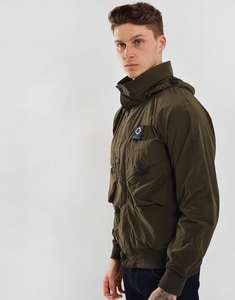 MA.Strum Sultan Bomber Jacket Olive Green £107.70 @ Terraces menswear