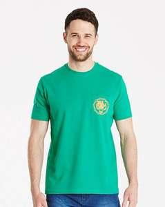 T-Shirt was £12 now £3.50 in Up to 70% off Sale @ Jacamo Free C+C from Store - more in OP