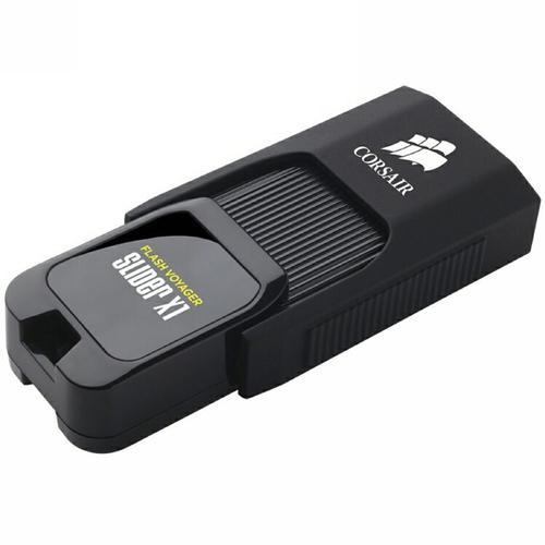 Corsair 128GB Flash Voyager Slider X1 USB 3.0 Flash Drive (Manufacturer Refurbished) - £20.99 @ Mymemory