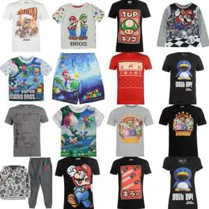 Nintendo T-Shirt's reduced prices from £4 @ Sports Direct £4.99 c&c / del