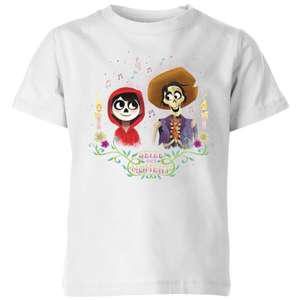 2 Officially Licensed Kids' Disney Coco tees for £14.99 delivered with code - 16 designs to choose from @ IWOOT