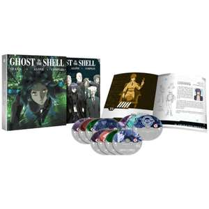 Ghost in the Shell: Stand Alone Complex Complete Series Collection - Deluxe Edition Blu-ray £90.98 @ Zavvi