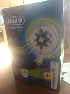 Oral-B pro 680  Cross Action Electric Toothbrush £20.00 in Tesco and online