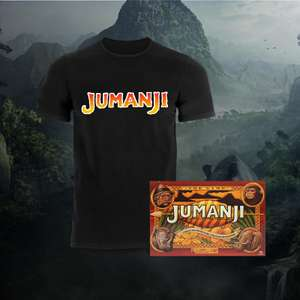 Officially Licensed Jumanji Board Game + T-Shirt £16.99 @ Zavvi
