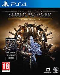 Middle earth shadow of war £5 at Smyths toy store.