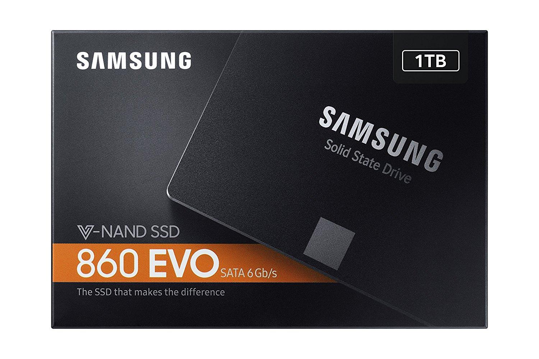 Samsung 1 TB 860 EVO Sata III SSD @ Amazon.de