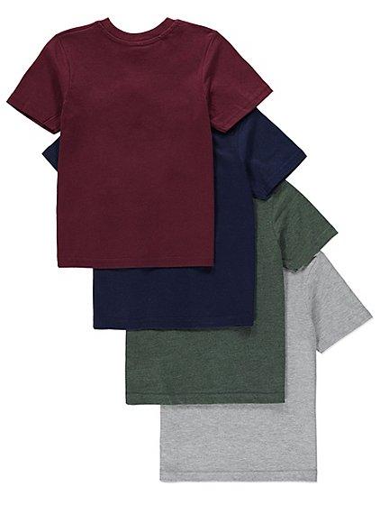 Kids T-shirts 4 Pack for £4 + free C&C @ Asda George