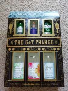 The Gin Palace - 3 Gin Miniatures and Tonics - Home Bargains (instore) - £8.99