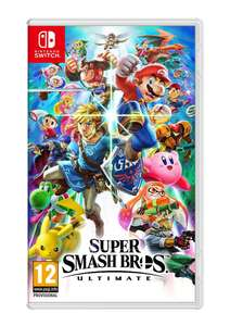Super Smash Bros Ultimate (Nintendo Switch) £42.85 @ SimplyGames