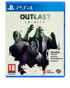 Outlast Trinity(PS4)Ex -Rental £9.99 @ boomerang / Amazon