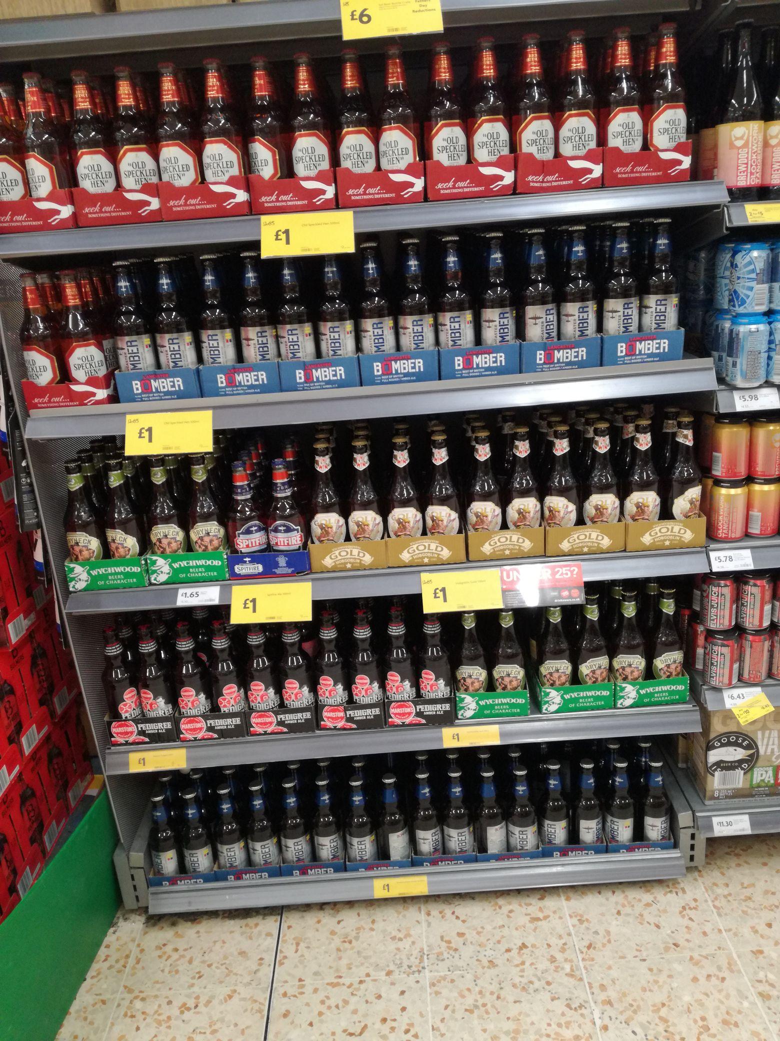 Real ale £1 bottles from £1.65 instore / online @ Morrisons