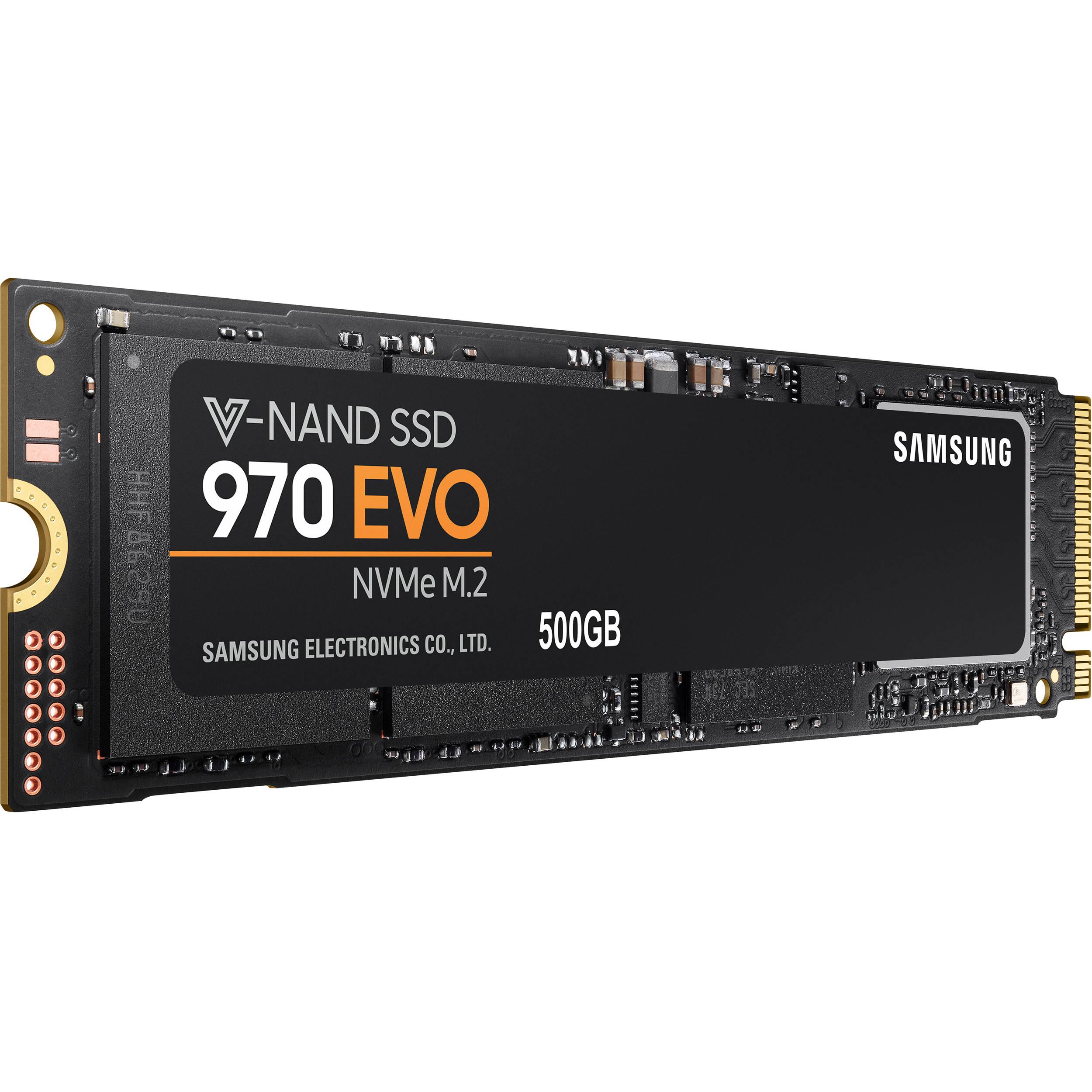 Samsung 970 Evo 500GB V-NAND M.2 SSD - £159.98 @ Ebuyer