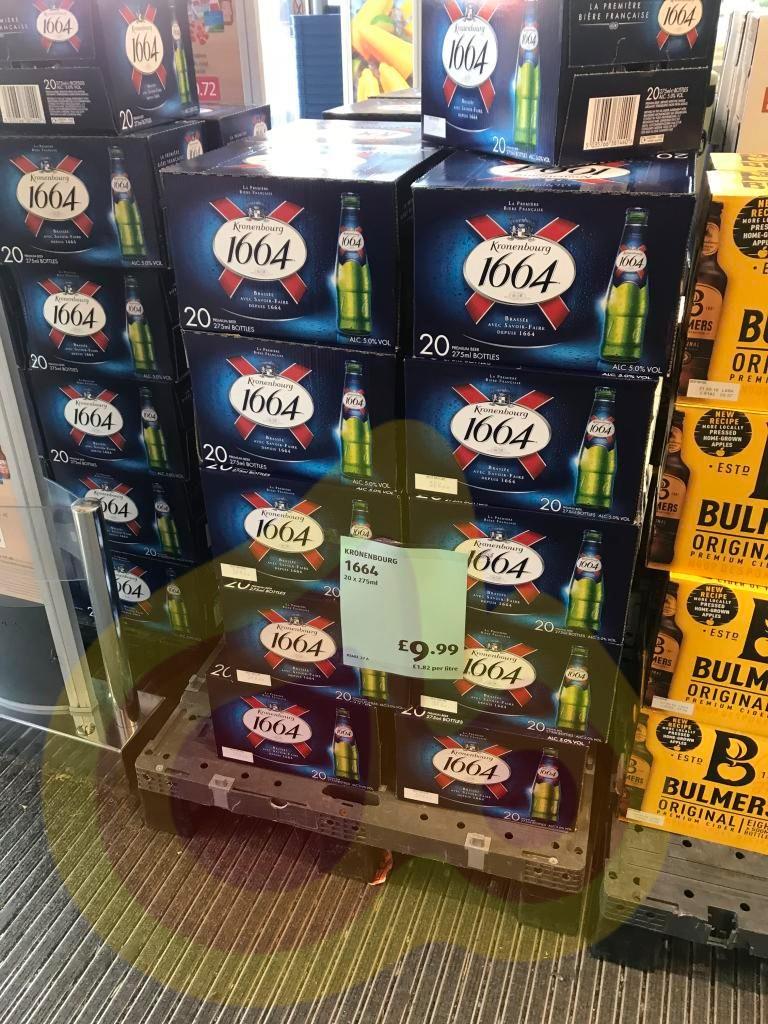 Kronenbourg 1664 20 x 275ml Bottles £9.99 in Aldi