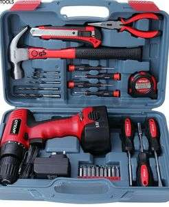 Apollo 26pc Household Cordless Power Drill Tool Kit £44.99 @ Sold by Apollo Fulfilment Ltd and Fulfilled by Amazon.