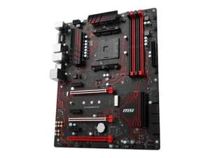 MSI AMD Ryzen AM4 X370 GAMING PLUS ATX Motherboard, £69.99 @ ebuyer