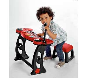 Chad Valley Sing Along Keyboard, Stand and Stool - Red £19.99 @ Argos