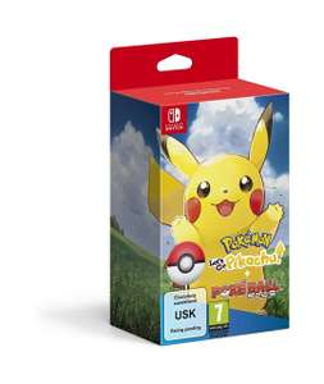 Pokemon Let's Go! Pikachu!/ Eevee! Plus Poke Ball Plus (Amazon) - £89.99 (£87.99 for Prime members)